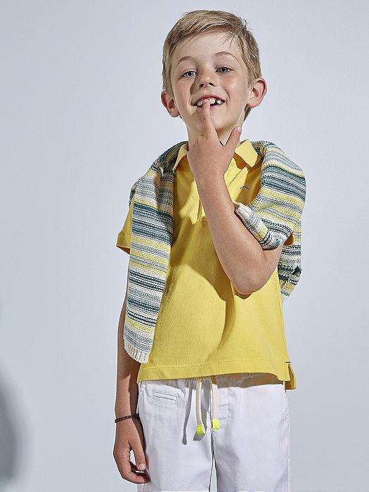 Conjunto de niño Nanos de polo, bermudas y jersey