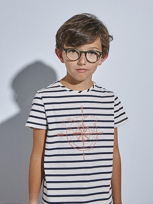 Conjunto de niño Nanos de camiseta y pantalón felpa