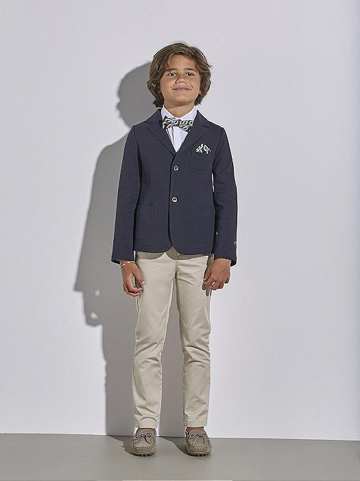 Conjunto de niño Nanos con blasier y pantalón gabardina