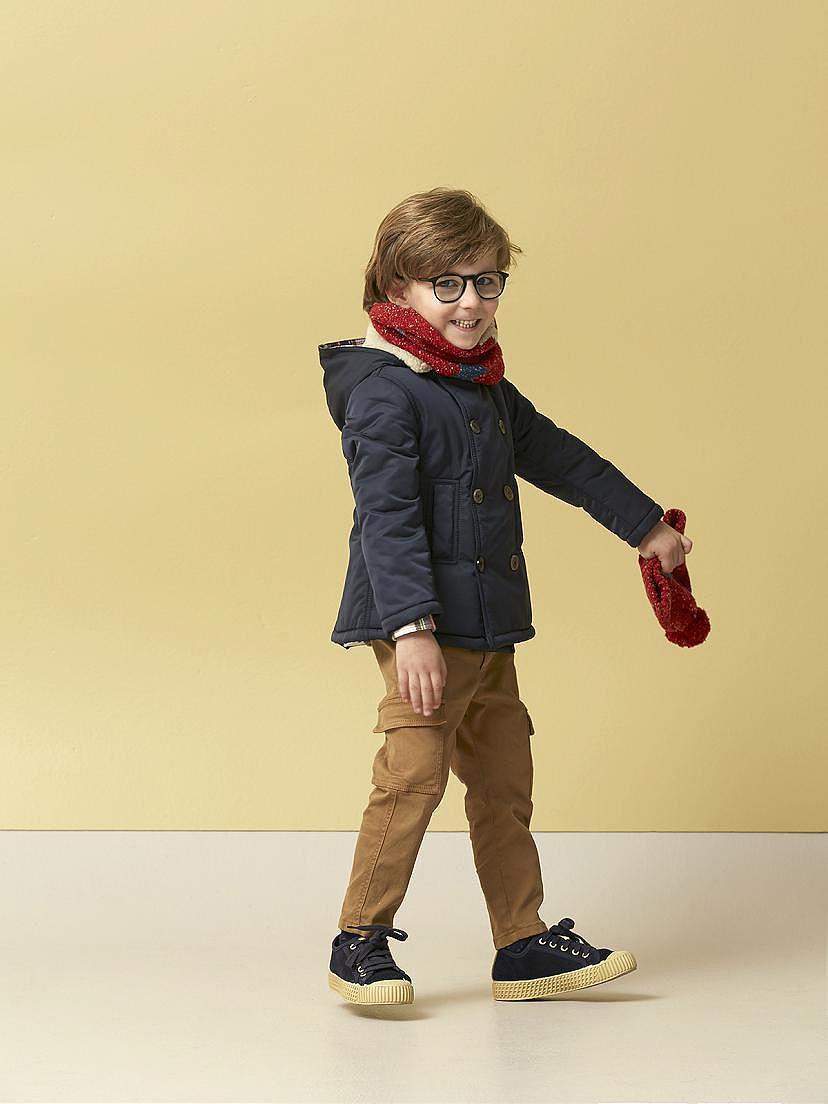 Look Nanos para niño con gorro, cuello y chaquetón