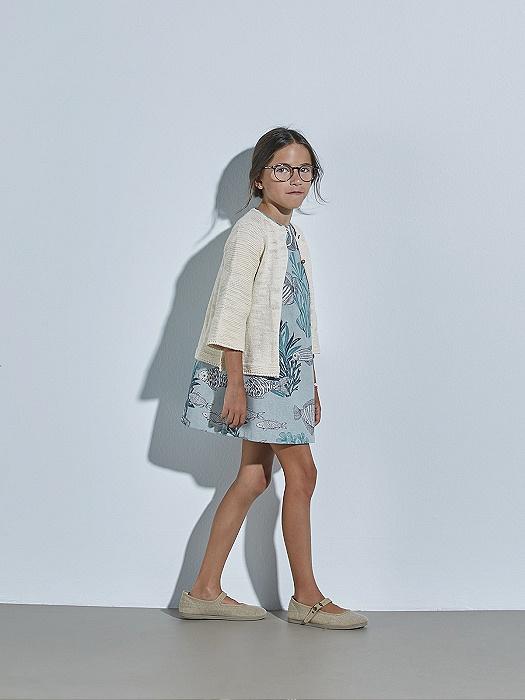Conjunto de niña Nanos de vestido y chaqueta