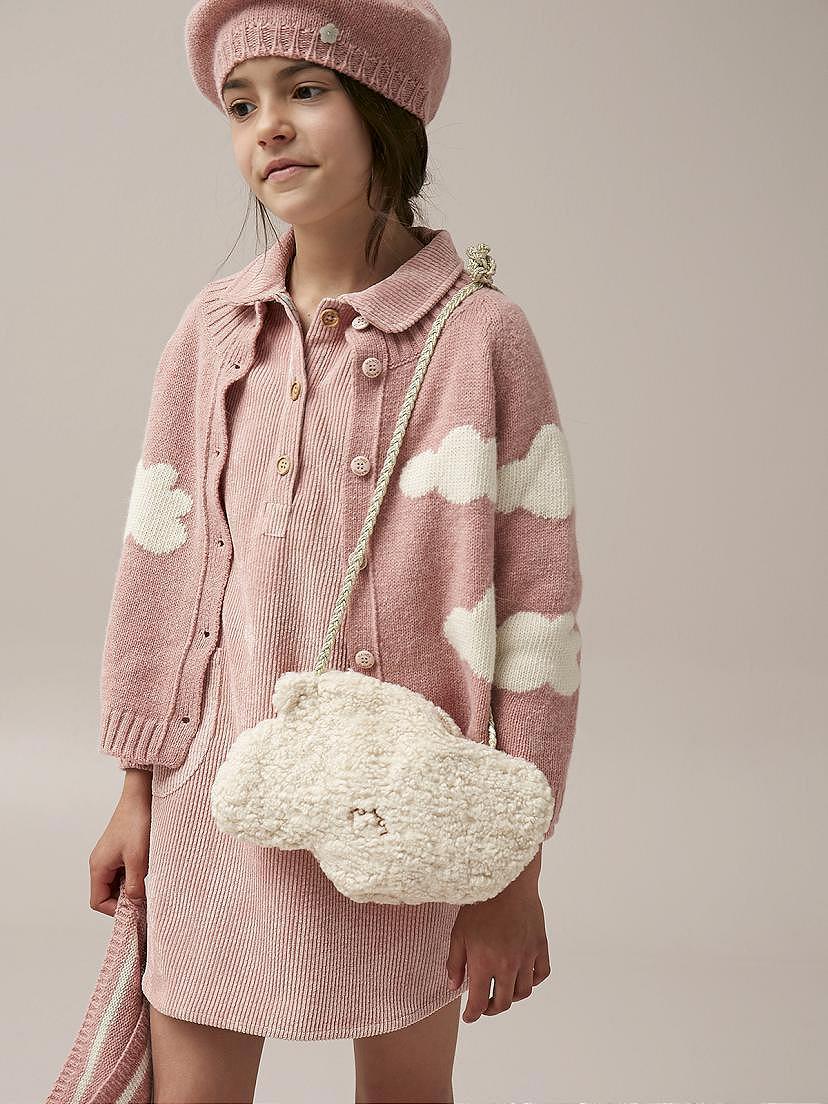 Conjunto Nanos de niña con chaqueta nubes y boina