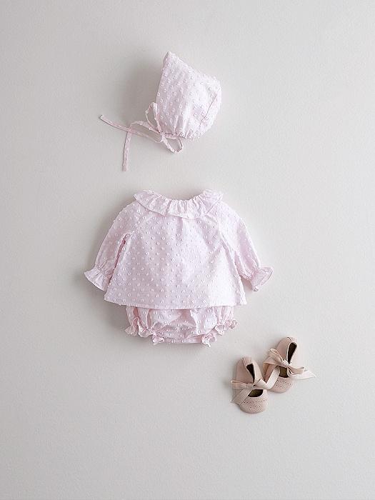 Conjunto de ranita y capota rosa en consejos para bebes Nanos