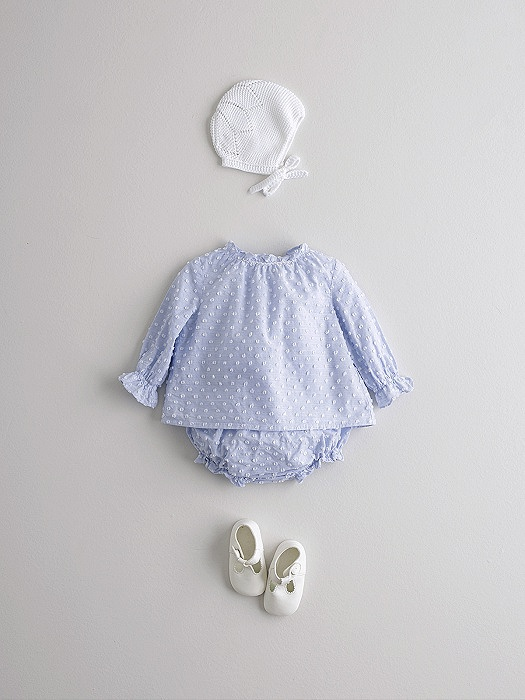 Conjunto de ranita y capota azul en consejos para bebes Nanos