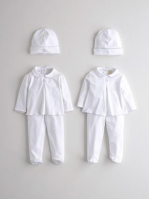 Conjunto con gorrito a juego en consejos para bebes Nanos lista de nacimiento