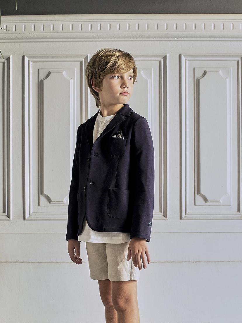 Tendencias 2021 con la traje comunión lino azul niño Nanos