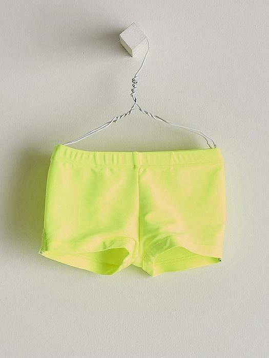 Boxer en lycra amarillo fluor Nanosp ara ir a la playa o piscina