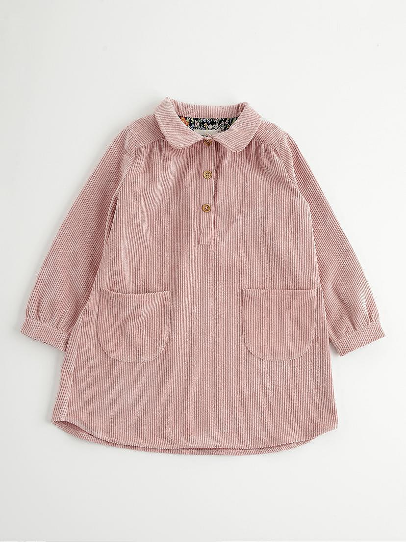 Vestido de pana rosa Nanos