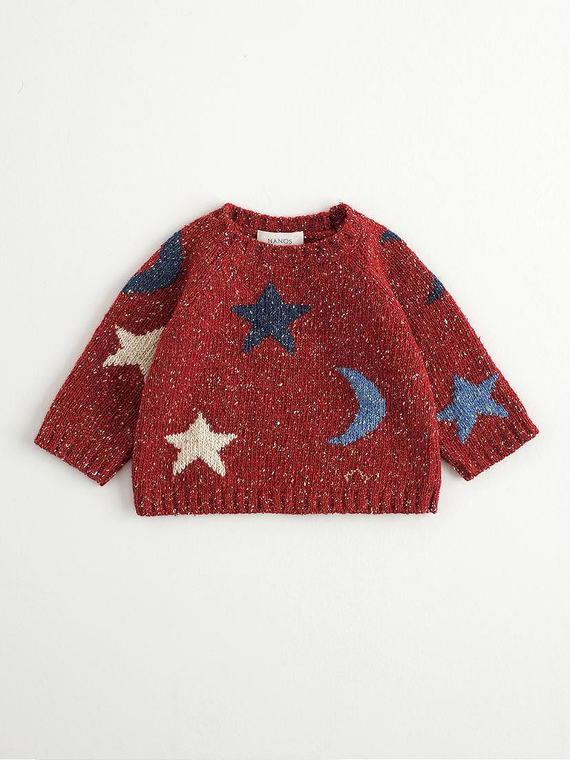 Jersey rojo de estrellas Nanos para bebé niño