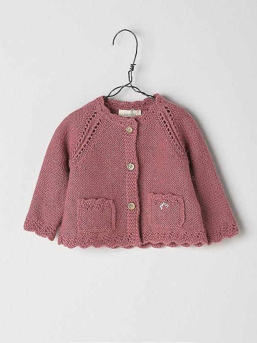 Chaqueta Punto Rosa Nanos Shop Baby Online x0qf8BP